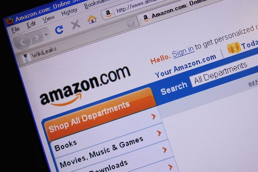This Dec 9, 2010 file photo shows the internet site of Amazon.com. Amazon.com Inc said it expects to hire more than 70,000 full-time seasonal employees across its order fulfillment centres in the United States, a 40 per cent increase from last year.