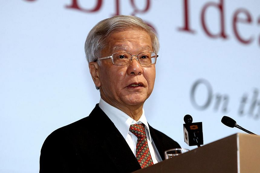 Former Chief Justice Chan Sek Keong has been appointed Distinguished Fellow at the National University of Singapore (NUS) law faculty, said the university in a statement on Tuesday. -- ST FILE PHOTO: CHEW SENG KIM
