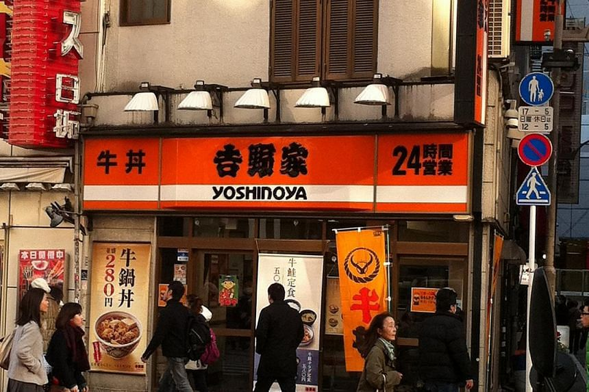 Japanese beef bowl chain Yoshinoya, which wants to open 1,000 outlets in China and 300-400 outlets in Southeast Asia over the next 10 years. Major Japanese fast-food chain Yoshinoya said on Tuesday, Oct 1, 2013, it would grow rice and vegetables in F