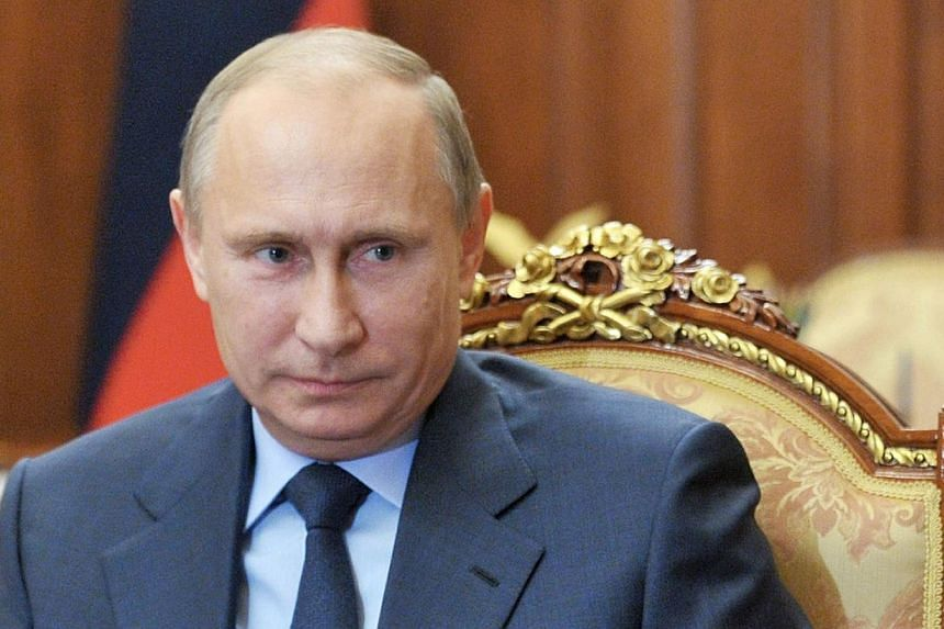 A patriotic Russian group on Tuesday called for President Vladimir Putin (above) to be awarded the Nobel Peace Prize for his Syria diplomacy, claiming he was more deserving of the award than 2009's laureate, United States President Barack Obama. -- P