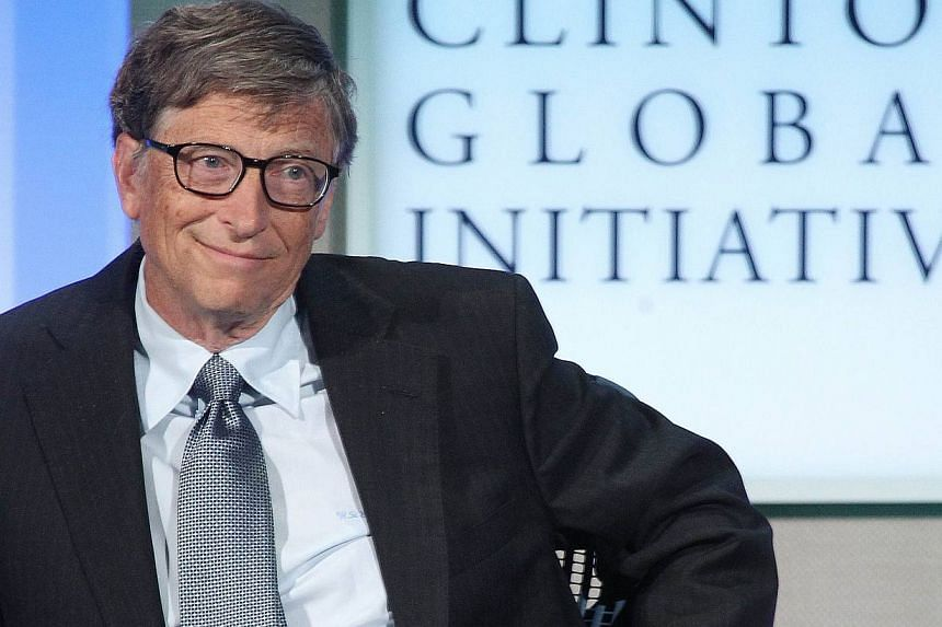 Microsoft co-founder Bill Gates attends the Clinton Global Initiative meeting in New York on Sept 24, 2013. Three of the top 20 investors in Microsoft Corp are lobbying the board to press for Mr Gates to step down as chairman of the software company