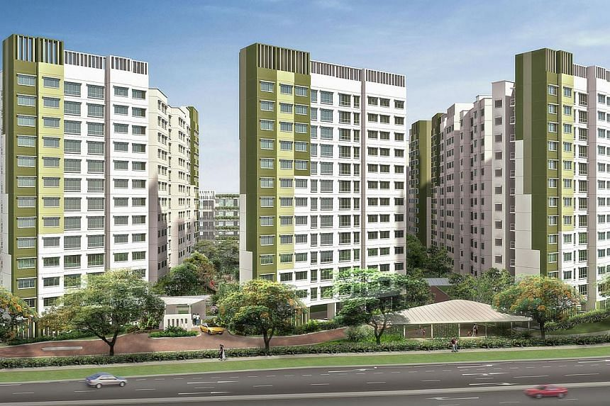 """An artist's impression of Saraca Breeze @ Yishun.The 84 """"three-generation"""" flats offered in the latest Build-To-Order (BTO) exercise attracted more than 300 eligible families, said National Development Minister Khaw Boon Wan on Wednesday. -- PH"""