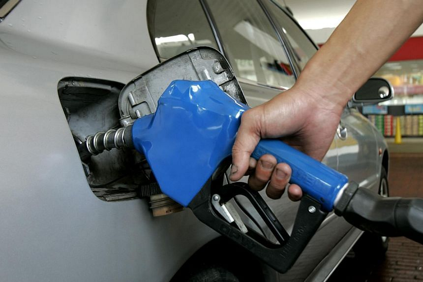 A person pumps petrol at a petrol station. Southeast Asia's net oil imports will more than double by 2035, costing US$240 billion (S$301.3 billion) at today's prices, to meet strong energy demand growth to fuel the region's fast-growing economies, th