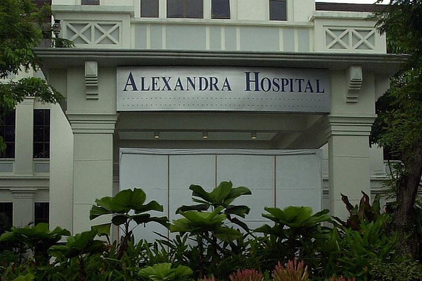 Alexandra Hospital is one of the three buildings gazetted for conservation by the Urban Redevelopment Authority as part of its upcoming Master Plan. -- ST FILE PHOTO:LAU FOOK KONG