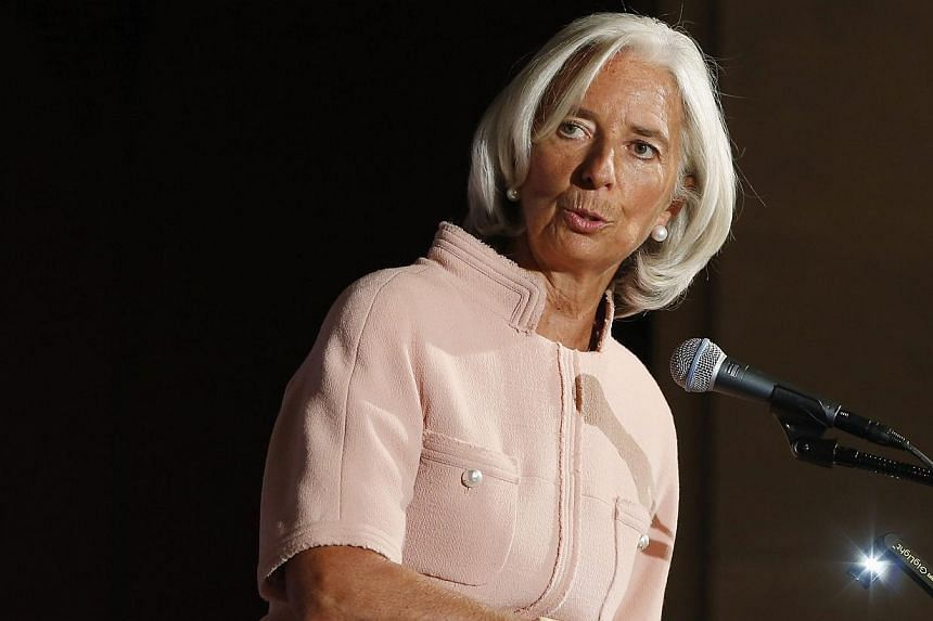 International Monetary Fund chief Christine Lagarde answers questions from the audience after remarks during a Peterson Institute for International Economics forum at the US Chamber of Commerce in Washington, Sept 19, 2013. Failure to raise