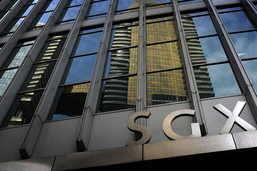 The total value of securities traded on the Singapore Exchange (SGX) rose to $30.3 billion in September, 6 per cent more than the same month a year ago, the bourse reported on Thursday. -- ST FILE PHOTO: JOSEPH NAIR