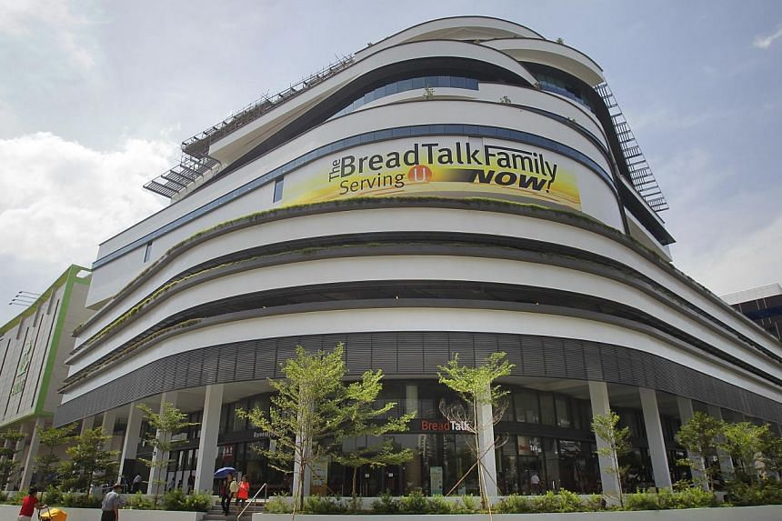 The new international headquarters of BreadTalk in Tai Seng on June 13, 2013. BreadTalk officially opened its $67 million international headquarters at Tai Seng Street on Oct 4, 2013. -- ST FILE PHOTO: KEVIN LIM