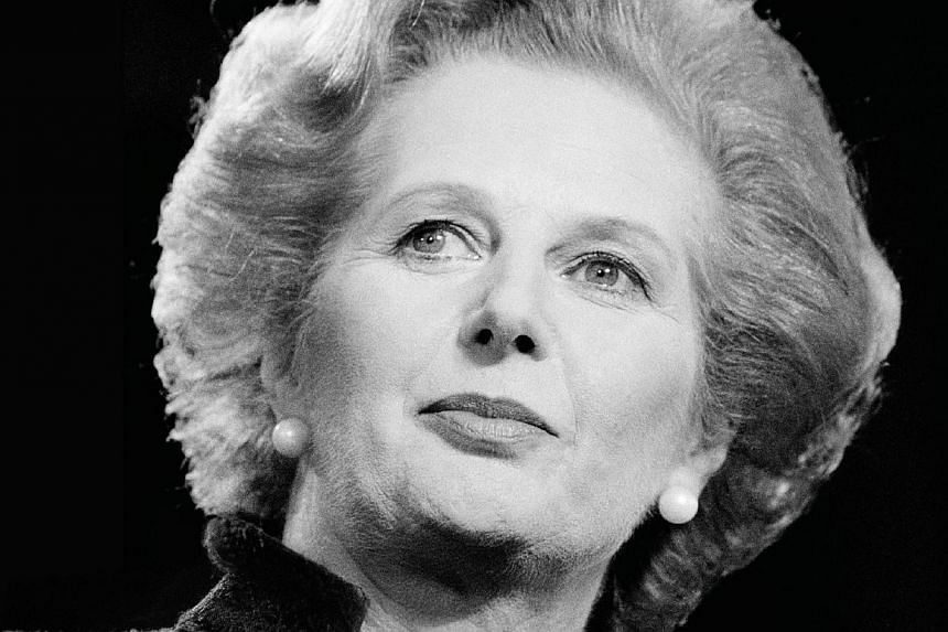 "The book cover of Margaret Thatcher: The Authorized Biography, Volume One: Not For Turning. One of Margaret Thatcher's ministers gushed over her ""good looks, charm and bearing"" in a resignation note released on Monday, Oct 7, 2013, that rea"