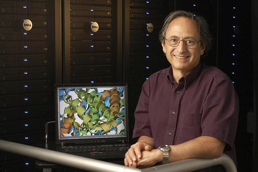 Dr Michael Levitt smiles in an undated handout photo provided by Stanford University on Wednesday, Oct 9, 2013.One of the three winners of the Nobel Chemistry Prize, Dr Levitt, said on Wednesday he was essentially awarded for work he did when h