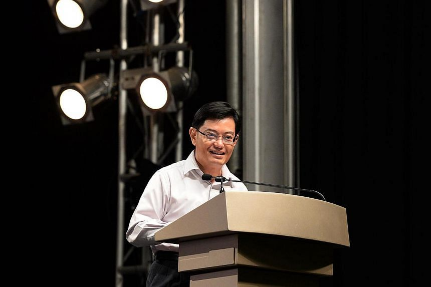 Some of the most experienced and well regarded principals will be posted to schools in the heartland as part of the Education Ministry's (MOE) effort to make every school a good school, said Education Minister Heng Swee Keat (above). -- ST PHOTO:&nbs