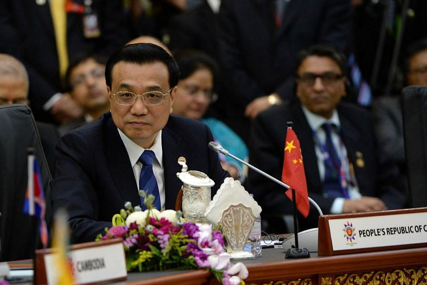 Chinese Premier Li Keqiang attends the 8th East Asia Summit, at the 23rd Summit of the Association of South-east Asian Nations (Asean) in Bandar Seri Begawan on Oct 10, 2013. Mr Li has given his assurance that freedom of navigation in the South China