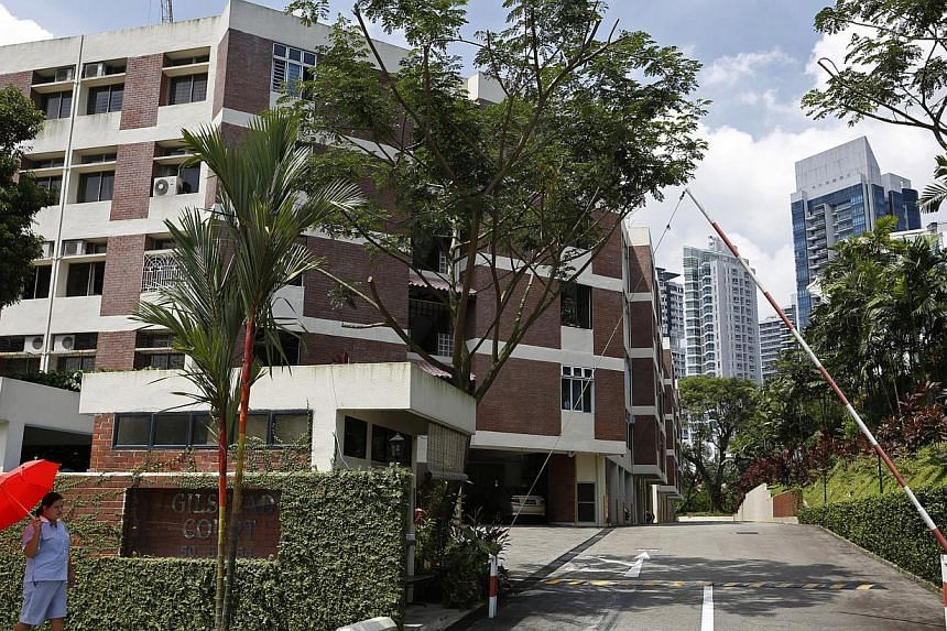 Four members on Gilstead Court's sales committee want penalty clauses against five dissenting owners removed. -- ST FILE PHOTO