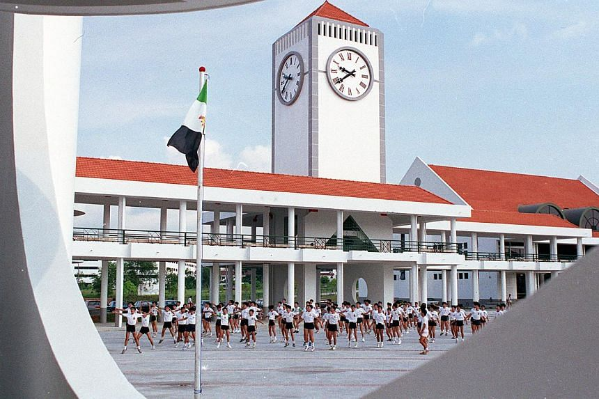 Raffles Institution at Bishan. from Raffles Institution (RI) to Methodist Girls' School - will get new principals next year. -- ST FILE PHOTO : STEVEN LEE CT