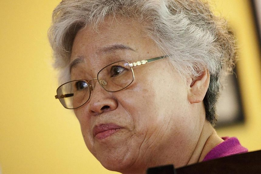 Mrs Myunghee Bae, the mother of Mr Kenneth Bae, is pictured during an interview with Reuters in Lynnwood, Washington in this file photo taken on Aug 7, 2013. -- FILE PHOTO: REUTERS
