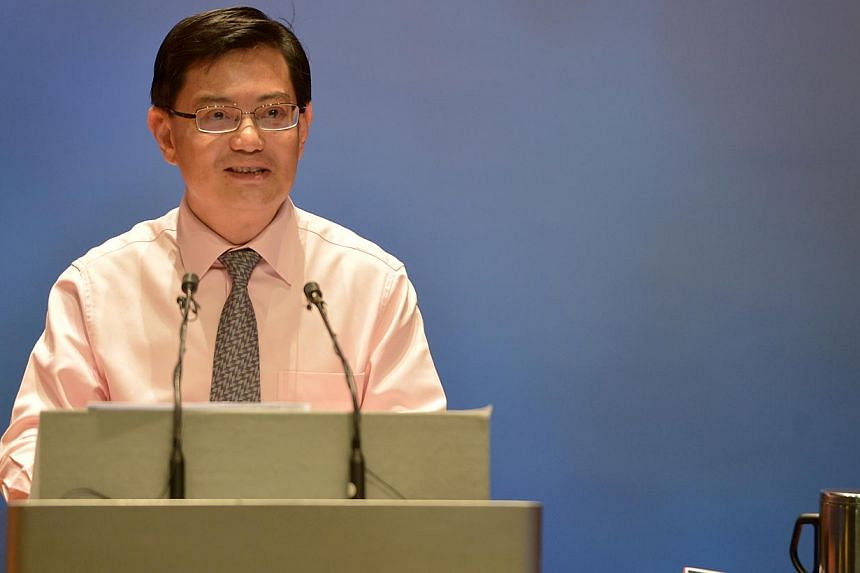 The recent principal reshuffle is to recharge school leaders and to allow educators to better collaborate with one another, said Education Minister Heng Swee Keat (above) in a Facebook post on Sunday night. -- ST FILE PHOTO:CAROLINE CHIA