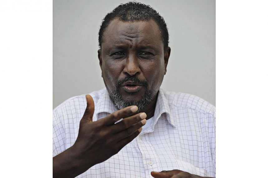 Belgium has arrestedMohamed Abdi Hassan (above), known as Afweyne or Big Mouth,at Brussels Airport on Saturday, Oct 12, 2013, the De Standaard newspaper said on Monday, Oct 14, 2013. -- FILE PHOTO: AFP