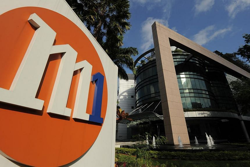 Singapore's smallest telco M1 has posted a 19.4 per cent jump in third quarter net profit to $39.6 million. -- FILE PHOTO: M1 LIMITED