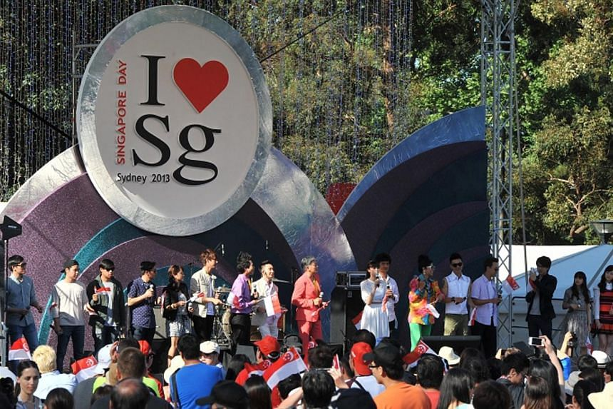 Singapore Day is a pre-registered event for Singaporeans and their families, and admission is by ticket, the organiser said on Tuesday, after an Australian man claimed that he and his father were turned away from the event in Sydney because they were