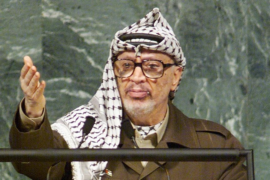 The Russian agency involved in studying the remains of Yasser Arafat (above) on Tuesday, Oct 15, 2013, denied issuing any conclusions about the death of the Palestinian leader, after a report cited its chief as saying he could not have died from polo