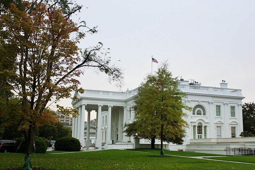 """The White House in Washington, DC onOct 12, 2013.The White House on Tuesday rejected a new plan by Republican House leaders to avoid a disastrous debt default, branding it a """"ransom"""" demand. -- PHOTO: AFP"""