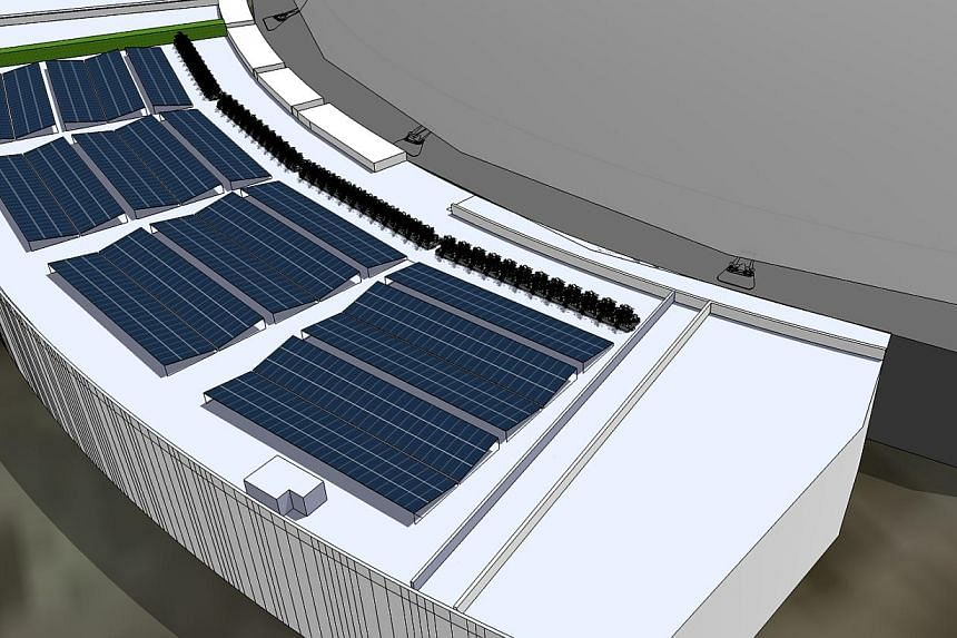 The upcoming Singapore Sports Hub is turning to solar energy to meet some of its electricity needs. Solar panels will be installed across an area of approximately 7,000sq m at the much anticipated sporting arena in Kallang, which is expected to open