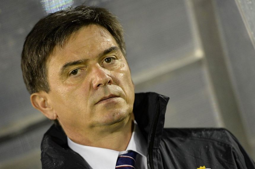 Poland have sacked coach Waldemar Fornalik (above) after their failure to qualify for next year's World Cup Finals in Brazil, the Polish football association said on Wednesday, Oct 16, 2013. -- FILE PHOTO: AFP