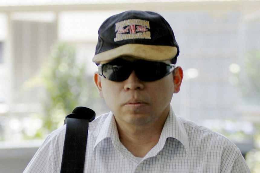 Kwa Wee Nam was jailed for four months on Thursday after he was convicted of commercial sex with an underage escort in the online vice ring case. -- ST PHOTO:WONG KWAI CHOW