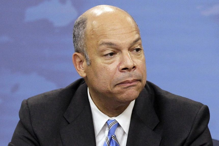 Mr Jeh Johnson speaks during a news conference at the Pentagon in Washington In this Nov 30, 2010, file photo. President Barack Obama will nominate Mr Johnson on Friday to be the next secretary of the Department of Homeland Security, a White House of