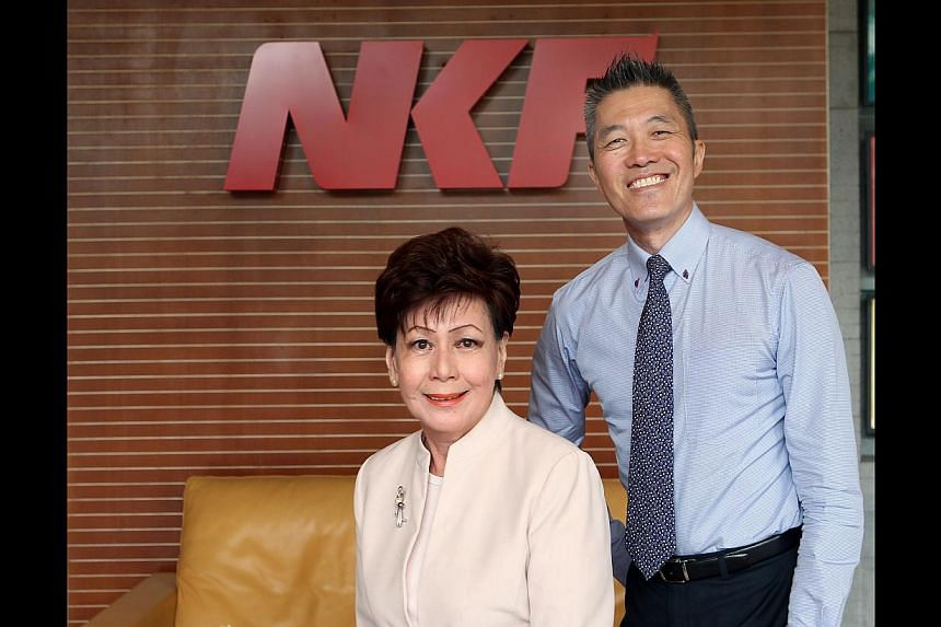 Chief operating officer Edmund Kwok will take over as chief executive from Mrs Eunice Tay on Nov 1.