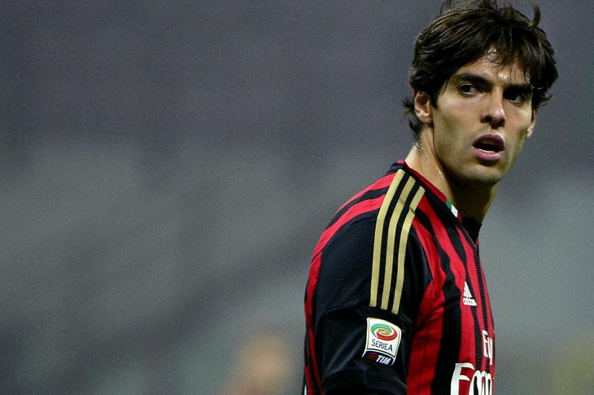 AC Milan's Brazilian forward Kaka looks on during the Serie A football match between AC Milan and Udinese, on Oct 19, 2013, in San Siro stadium in Milan. Brazilian Kaka made his long-awaited return for injury-ravaged Milan in a hard-fought 1-0 win ov