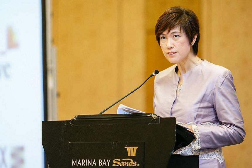 Senior Minister of State for Finance and Transport Josephine Teo (above) saidthe cost of compliance with international tax laws is likely to go up as a result of new legislation coming out of the United States, but this should not affect Singap