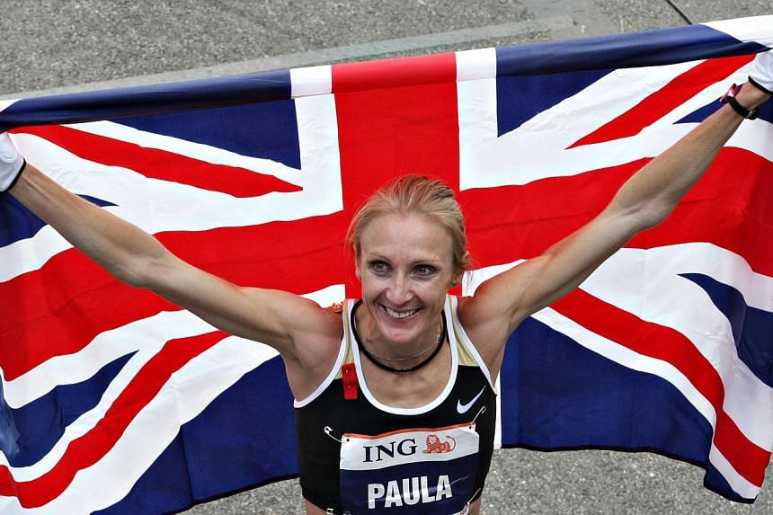 A group of Kenya's best women distance runners are conspiring to take a shot at the marathon world mark set by Britain's Paula Radcliffe (above) more than 10 years ago. -- FILE PHOTO: BLOOMBERG