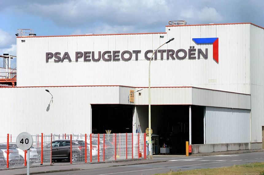The La Janais factory of French carmaker PSA Peugeot Citroen is seen in Chartres-de-Bretagne, outside Rennes, western France on Aug 28, 2012.PSA Peugeot Citroen will remain French, Industry Minister Arnaud Montebourg said on Tuesday, Oct 22, 20