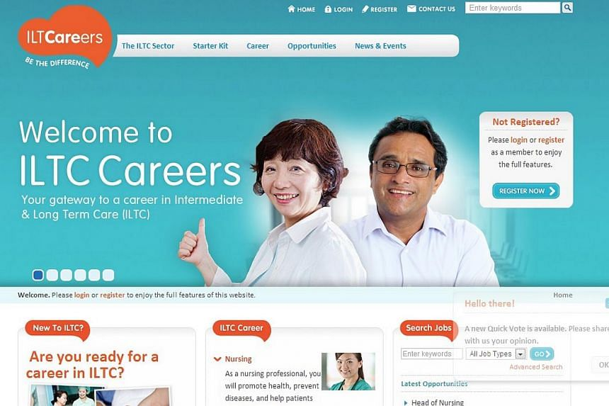 A new jobs portal for the aged care sector has been launched.The website called Intermediate and Long-Term Careers (ILTCareers) was developed by the Agency for Integrated Care in partnership with the Intermediate and Long-Term Care Manpower Cou