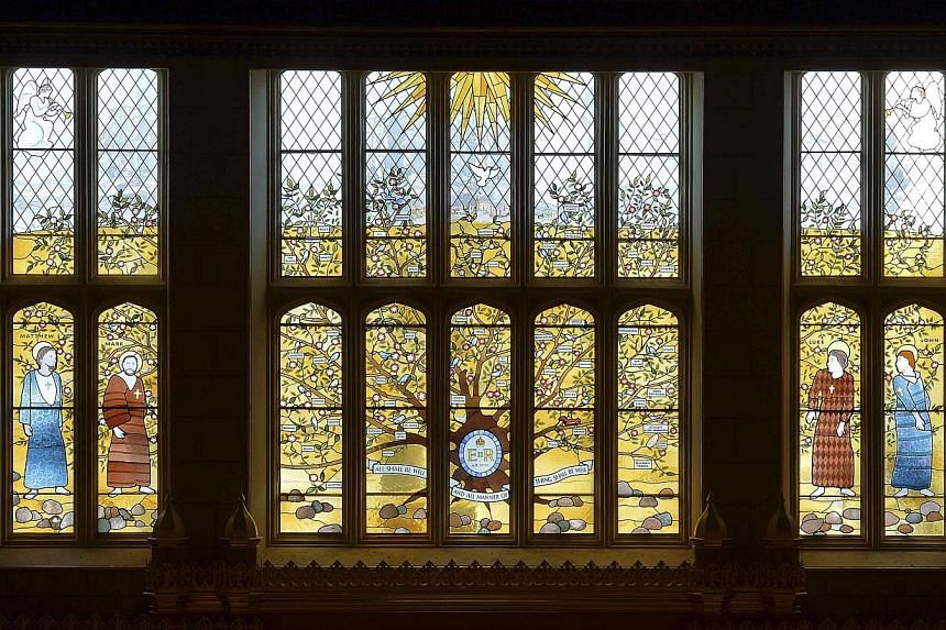 The interior of the Chapel Royal is seen in this general view taken at St James's Palace in central London Oct 17, 2013. -- PHOTO: REUTERS
