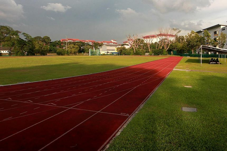 The field behind Cedar Girls' Secondary has been used as a track by the school for the past 56 years, but the latest lease on the parcel of land, which began in 2007, will not be renewed.