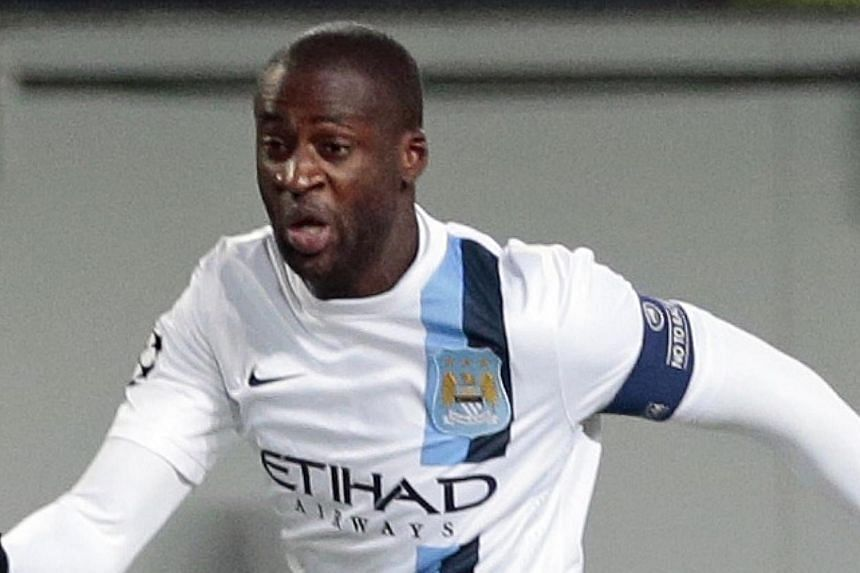British newspapers were united in their condemnation of the racist chants directed towards Manchester City's Ivorian international Yaya Toure (above) during the side's Champions League match against CSKA Moscow in the Russian capital yesterday. -- PH
