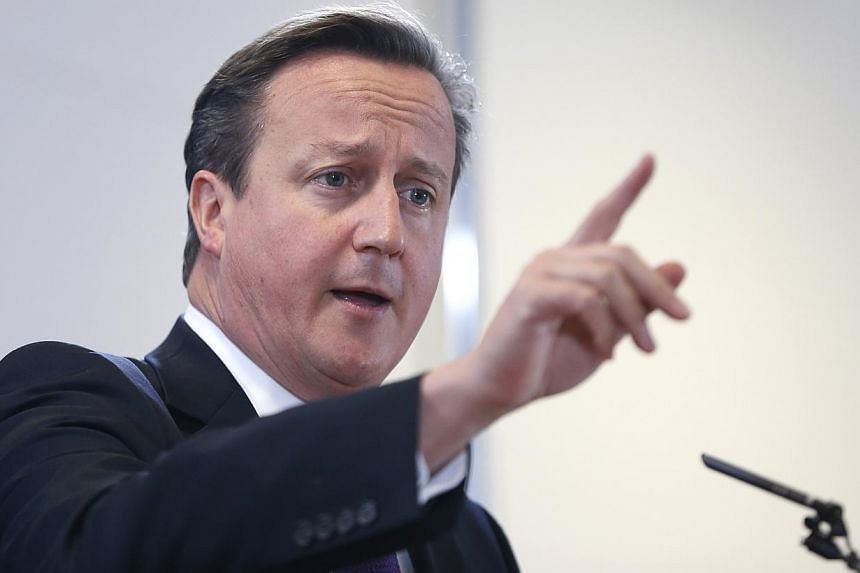 Britain must simplify regulations governing shale gas extraction or fracking to speed up the development of an energy source that has helped to transform the United States market, Prime Minister David Cameron (above) said on Friday, Oct 25, 2013. --