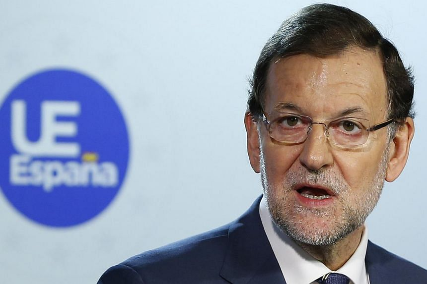 Spanish Prime Minister Mariano Rajoy (above) said on Friday, Oct 25, 2013, he would call in the US ambassador to Madrid to explain reports of American spying on the country, a close ally of Washington. -- PHOTO: REUTERS
