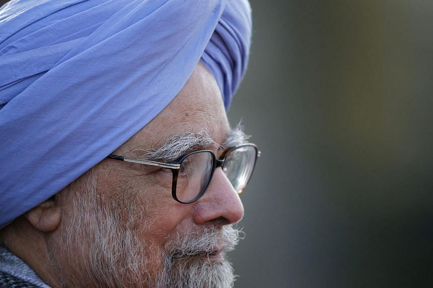 Indian Prime Minister Manmohan Singh in Russia on Oct. 20, 2013. -- FILE PHOTO: AP