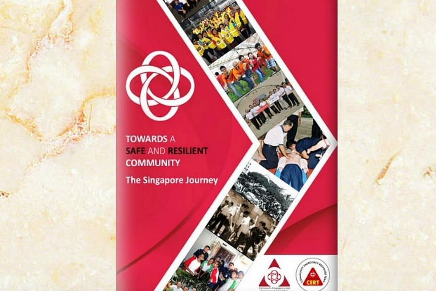 A new e-book containing stories, videos and games that chart Singapore's journey of improving emergency preparedness was launched on Saturday by the People's Association (PA).-- PHOTO: PEOPLE'S ASSOCIATION