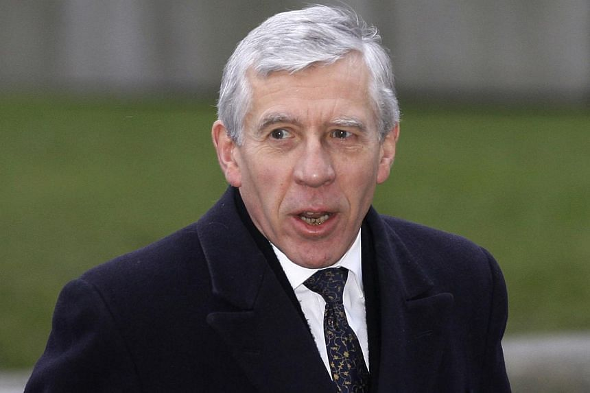 Former British Foreign Secretary and Justice Secretary Jack Straw arrives at the Queen Elizabeth II conference centre in London for the Iraq Inquiry on Wednesday, Feb 2, 2011. Mr Straw has said he would step down as a member of parliament at the 2015