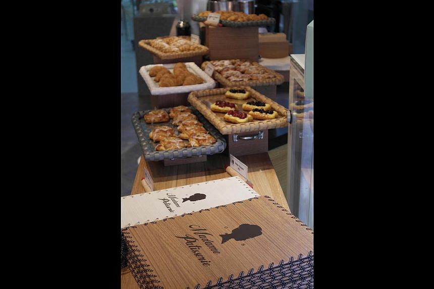 Madame Patisserie in Boat Quay opened in July.