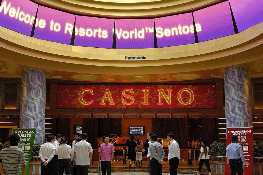 Singapore casino visitors new bc casino