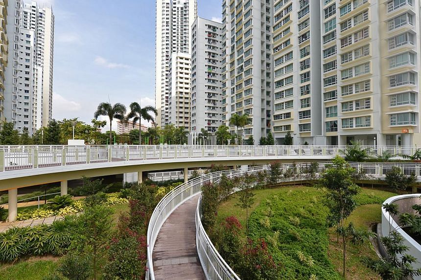 Casa Clementi, the largest public housing project by the Housing Board so far, has been recognised by a global association for project managers for being expertly managed and built. -- ST FILE PHOTO: NURIA LING
