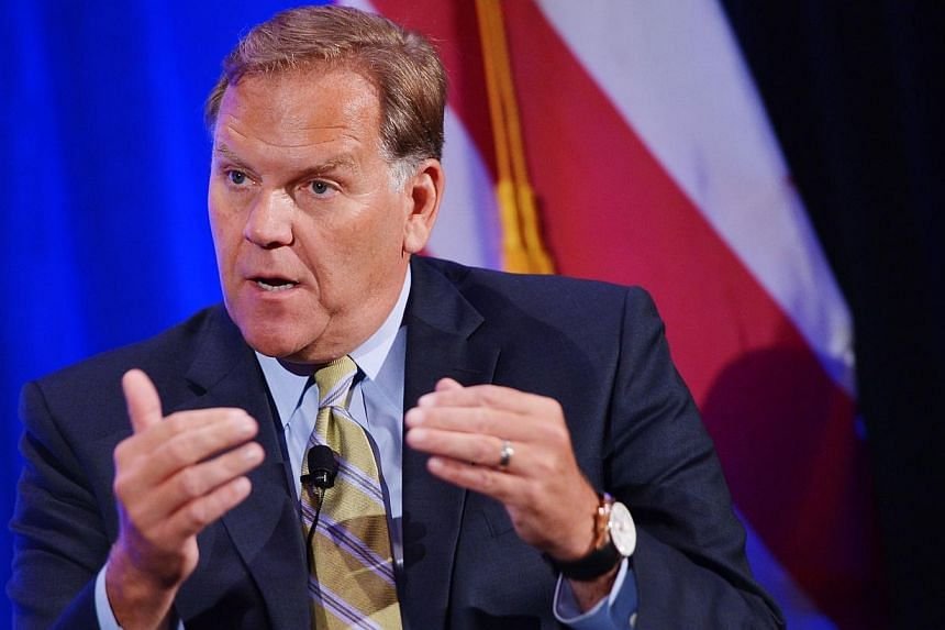 House Intelligence Chairman Mike Rogers, R-MI, speaks during the inaugural Intelligence Community Summit organized by the Intelligence and National Security Alliance (INSA) on September 12, 2013 in Washington, DC.House Intelligence Committee Ch