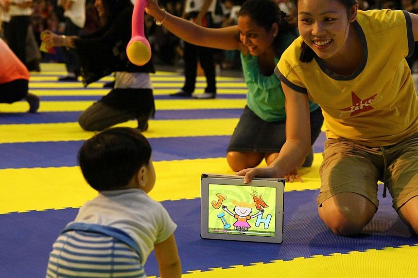 The findings of the Early Childhood Development Agency study will be used to develop its public education and outreach initiatives and help equip pre-school operators with resources to help them in their work with parents. -- TNP FILE PHOTO
