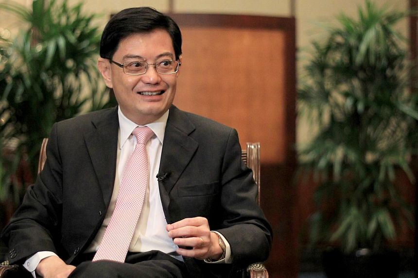 A 60-strong business delegation from Singapore, led by Singapore's Minister for Education Heng Swee Keat (above) and Minister of State for Trade and Industry Teo Ser Luck, will visit China's Jiangsu province this week. -- ST FILE PHOTO: JOYCE FANG