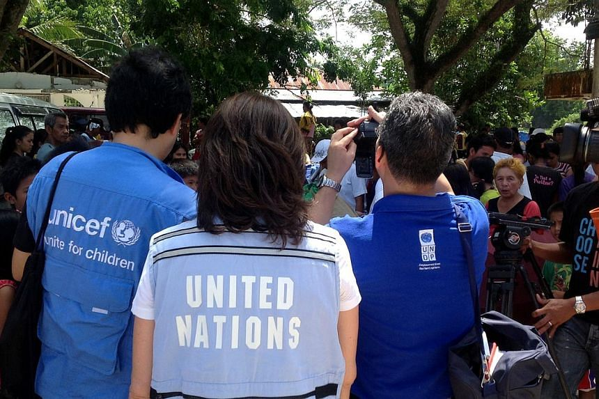 A joint inter-agency team lead by UN OCHA visits the earthquake affected areas in the central Philippines island of Bohol. --  PHOTO: OCHA/ PRERNA SURI