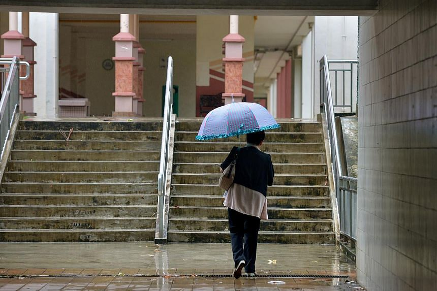 The Meteorological Service Singapore (MSS) said on Monday that in-house weather models have predicted that total rainfall this coming December and January could be 10 per cent to 20 per cent above average.-- ST FILE PHOTO: KUA CHEE SIONG